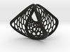 Homage to Lacan | Hexa Concave Convex Ring 3d printed