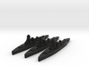 Deutschland class pocket-battleships 1/4000 3d printed