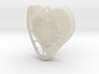Heart Container Pendant 3d printed