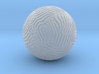 Small Reaction Diffusion Sphere 3d printed