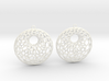 Cellular Earrings - 1 pair 3d printed