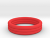 Banded Ring 3d printed