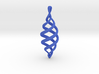 Drop spiral ornament 3d printed
