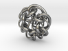 Tangled Knot Pendant (updated) 3d printed