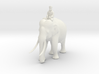 indianelephant rider 280mm 3d printed