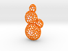 Star Coral Earring 3d printed