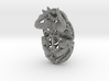 Dung Beetle (Scarab) Filagree Pendant 6cm 3d printed