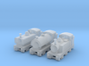 T-gauge Mix Tank Engines - Uses Eishindo Wheels 3d printed