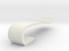 Flash drive brooch 'Curve' 3d printed