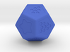 Star: Stylized d12 3d printed