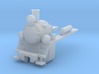 PX48 Smokebox and running plate with lamps HOe 3d printed