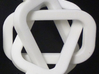 male/male Borromean rings 3d printed If one ring is broken, the other two will fall apart.