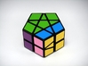 Fractured Prism Puzzle 3d printed 180 Degree Turn