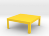 Modern Coffee Table 1:12 scale 3d printed