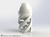 DNA Egg Cup Sculpture 3d printed