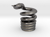Snake Cigarette Stubber 3d printed Snake Cigarette Stubber in polished nickel steel