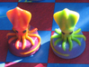 Sea Chess Pieces - Small 3d printed Pieces coated with protective, spray on lacquer.