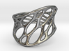 1-layer twist ring 3d printed