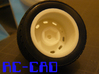 Porsche 356 rims for M-chassis 3d printed 12mm Hex,