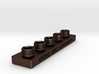 Sculpting Platforms-Quintuple Cap Hollow Block 3d printed