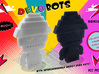 DevoBot Series 1 : Yellow Bio Suit Jerry 3d printed