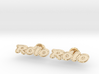 Rolo Cufflinks 3d printed