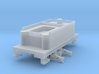 H0n30 tender with 2 trucks (type 2B) 3d printed