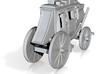 Z Scale Stagecoach 3d printed
