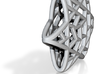 Star Of David Cell Pendant 3d printed