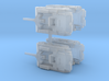 Alecto SPG Set of 4 1/285 6mm 3d printed