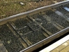 Train Protection Warning System: Buffer Stop Grids 3d printed Real life example seen in Sheffield