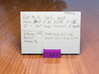 RE Guild D&D Player Card Holder 3d printed Violet Purple