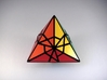 Fractured Tetrahedron Puzzle 3d printed Face Type 1