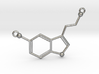 Serotonin Necklace Pednant 3d printed