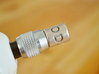 """Coffee Grinder Bit for Drill Driver CDR-S 3d printed Set Image (1/4"""" Hex Chuck)"""