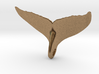 Whale Tail Pendant 3d printed