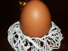 Birds Nest Egg Holder 3d printed photo of the holder with live egg