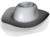 Stetson Hat iPhone5 1500mah Charger with USB Out 3d printed