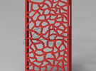 Skeleton iPhone 5 Case in Red Strong & Flexible Polished