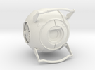 Wheatley from Portal 2 in White Strong & Flexible