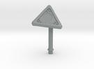 Proximity Mine Top in Polished Metallic Plastic