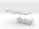 1:43 London Transport E/1 Tram-Part2 in White Strong & Flexible