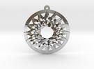 Melchizedek Stargate in Polished Silver