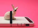 """Cariband case for iPhone 5/5s, """"holds stuff"""" in White Strong & Flexible Polished"""