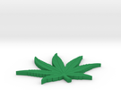 POT LEAF 1/16 inch thk in Green Strong & Flexible Polished