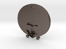 Funky Afro Girl in Stainless Steel