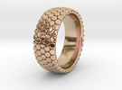 Dot Ring 1 SIZE 10.5 in 14k Rose Gold Plated