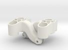 7034 Axle Carrier PA2200 LR in White Strong & Flexible