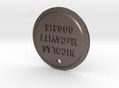 TLOU Pendant - Nicolas McCavitt 000315 in Stainless Steel