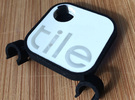 Tile Stealth Bike Tracker (Clip) in Black Strong & Flexible